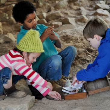 Get those Kids Outside – Geocaching For Treasure!