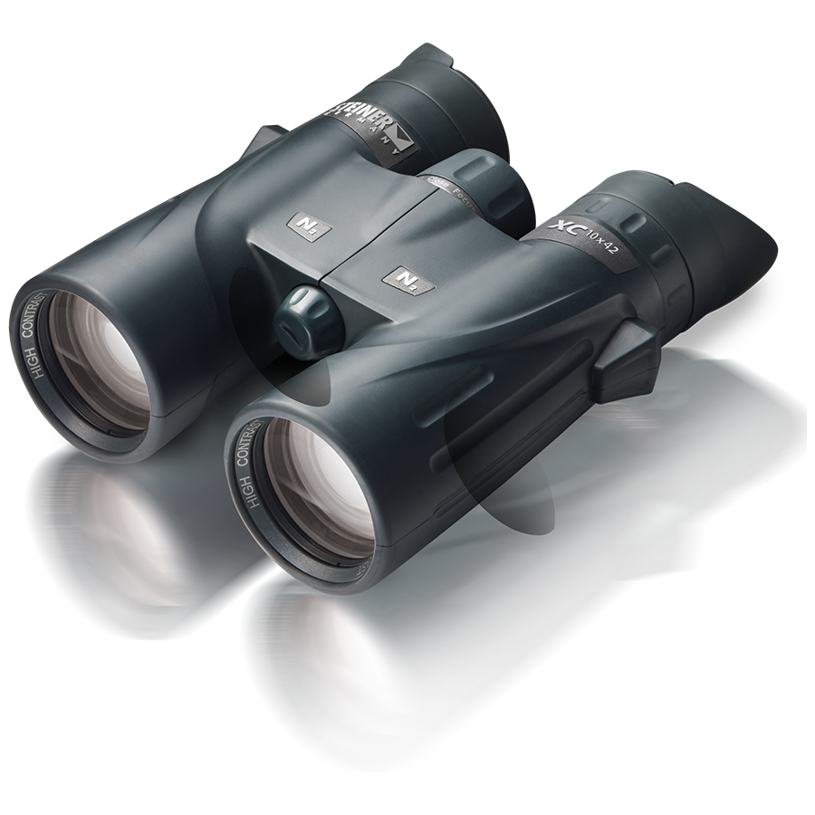 A sleek, ergonomic profile, no-slip NBR rubber armor coating, clear edge-to-edge viewing, and a rugged polycarbonate housing are just a few of the key features we like about the XC-series binoculars. Oh...and the budget-friendly price.