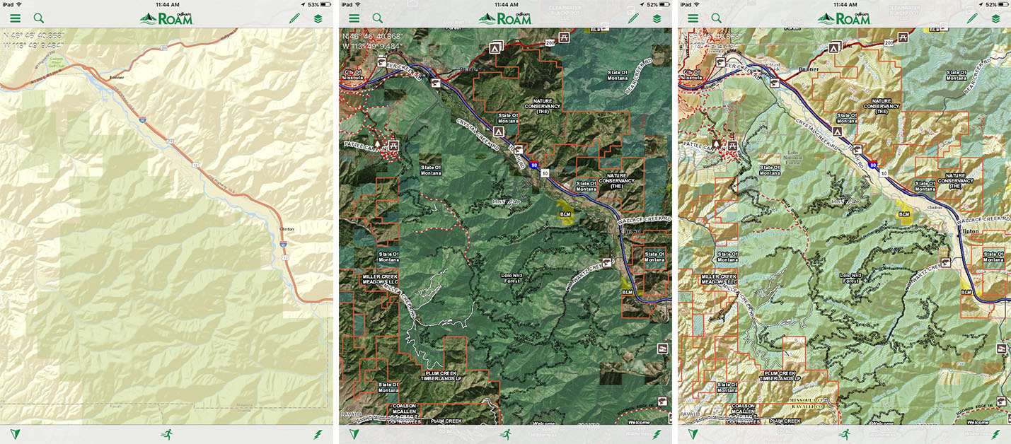 Meet The NEW Backpackers Hero Outside Daily - Onx map app