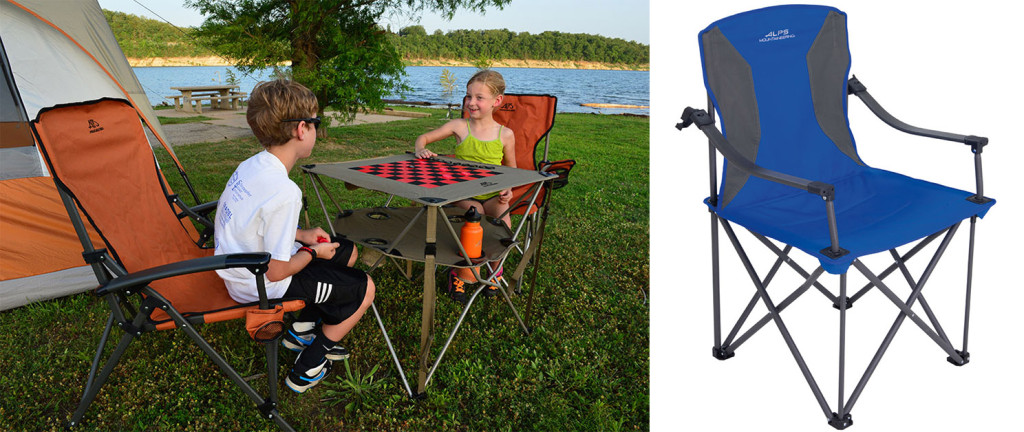 Life is easier for everyone when you have a comfortable place to sit. Sturdy frame folding chairs such as the Eclipse, Leisure, and Lakeside seen here definitely ramp up camping comfort a few notches.